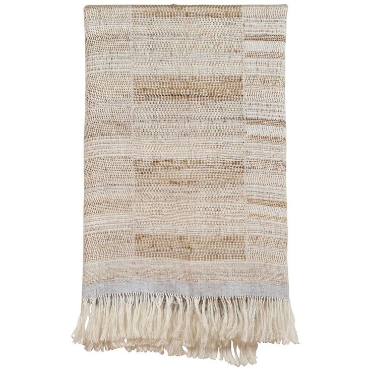 Indian Handwoven Throw | 1stdibs.com