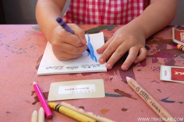 word drawing game for preschoolers