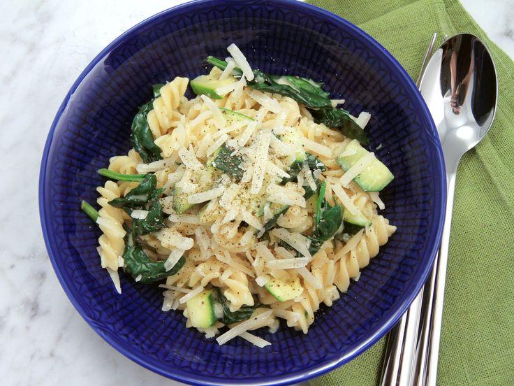 Carbonara med zucchini | Recept från Köket.se