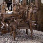 $598.43  PULASKI Furniture - San Mateo Carved Back Arm Chair (Set of 2) - PU2759