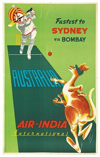 Air-India - Fastest to Sydney via Bombay