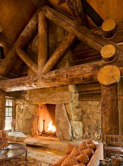 401 Best Images About Log Cabin Design Ideas On Pinterest
