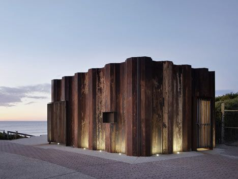 25 best ideas about weathering steel on pinterest metal for Architecture kiosk design