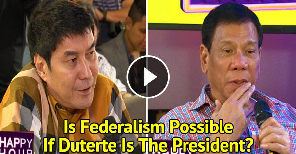 [Trending Now] Mayor Rodrigo Duterte was placed on a hot seat by Raffy Tulfo! MUST WATCH!