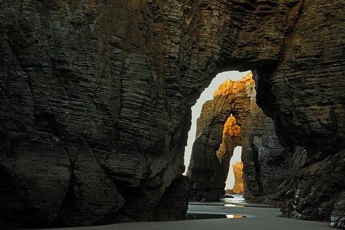Arches Oregon CoastOregon Hom, Arches Oregon, Nature Doors, Las Catedral, Oregon Coast, Catedral Beach, Beautiful Oregon, Beach Rinlo, 3 5 5 6D Photos