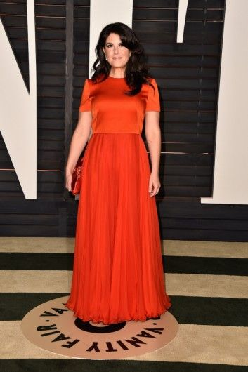 Monica Lewinsky at the Vanity Fair Oscars 2015 Party. Click on the image to see more looks.