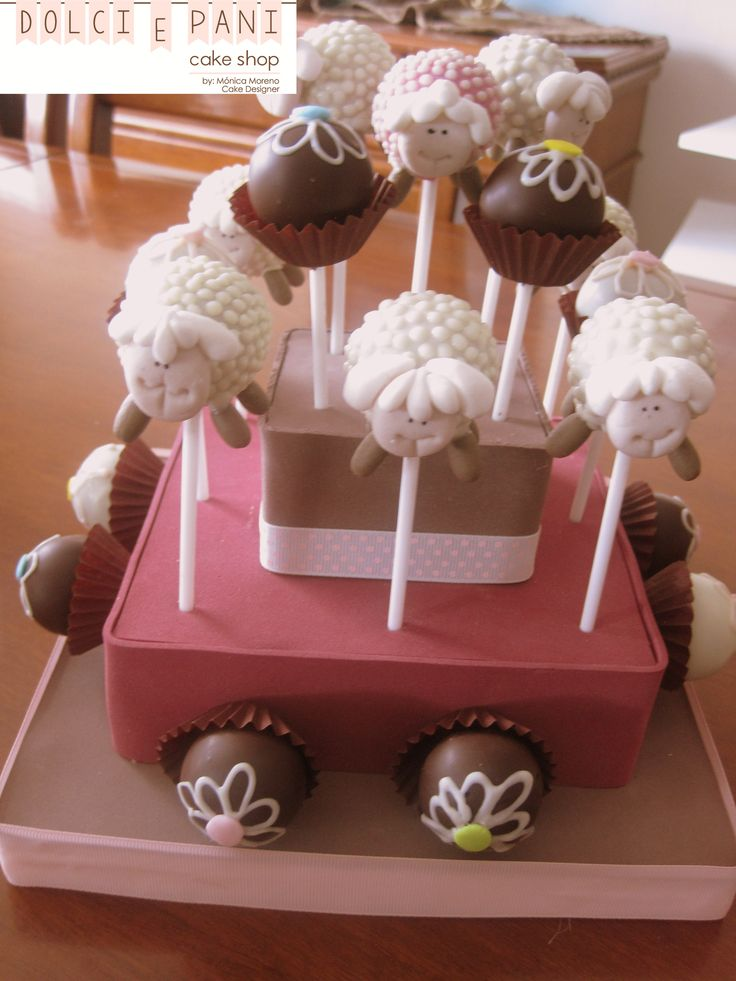Sheep Cakepops by Dolci e Pani