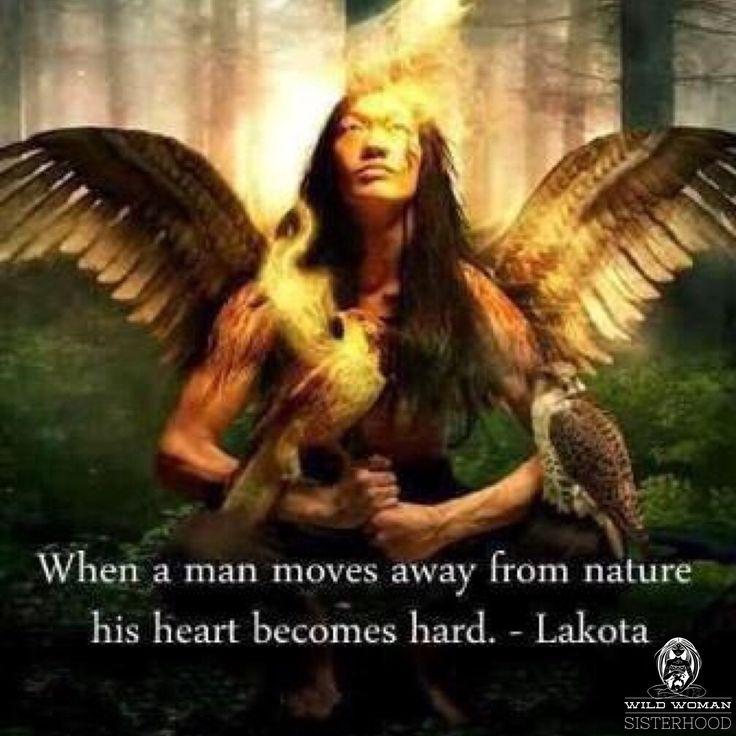 Quand un homme se éloigne de la nature son cœur devient dur-7928