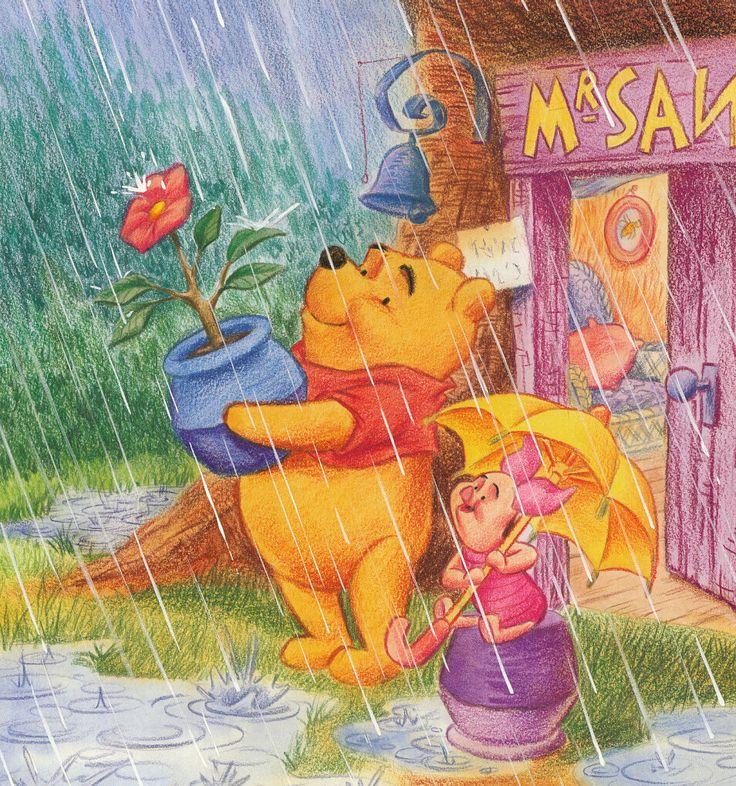 Winnie The Pooh Rain