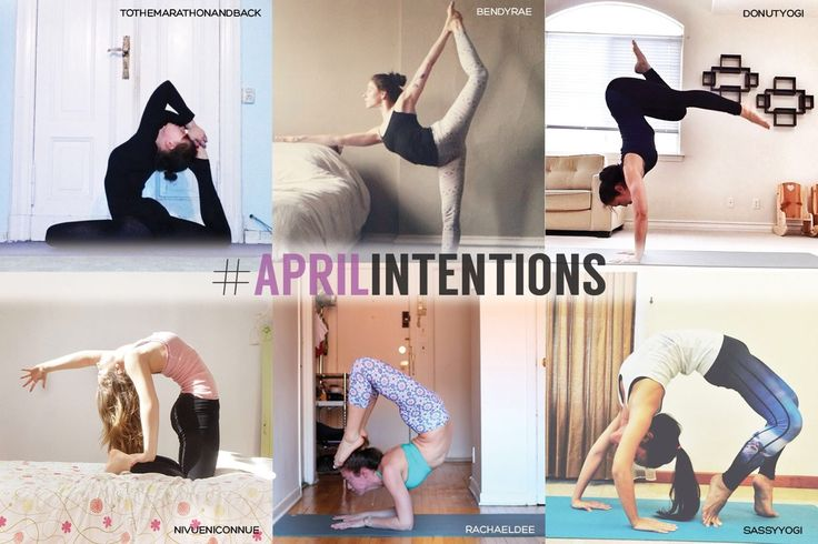 Often times in a yoga class the teacher will suggest to the students to set an intention for the day's practice and we thought that would be a nice sentiment to bring into this month's challenge.