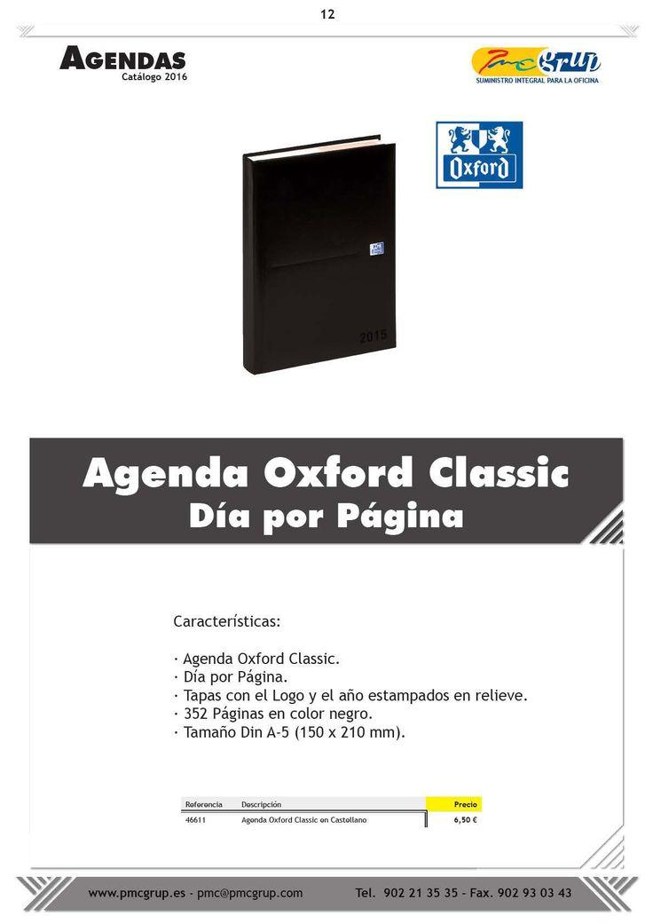 Agenda Oxford Classic, Día por Página