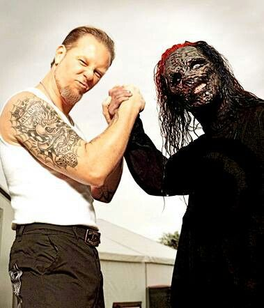 Slipknot & Metallica...James Hatfield...nothin else matters.... (Favorite Music Watches)