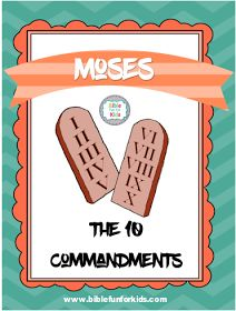Moses and the 10 Commandments #Biblefun #OTBiblelesson