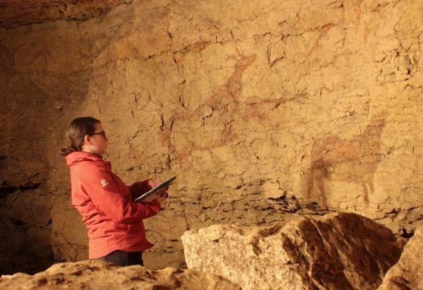 """grotte """"el Pendo"""" _ Cantabrie"""