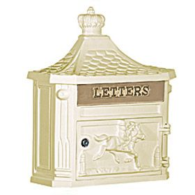 edwardian style fences mailbox | Victorian Style Mailboxes and Accessories - Hoover Fence Co.