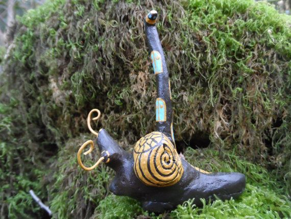 Driftwood house on the little snail by driftwoodtales on Etsy