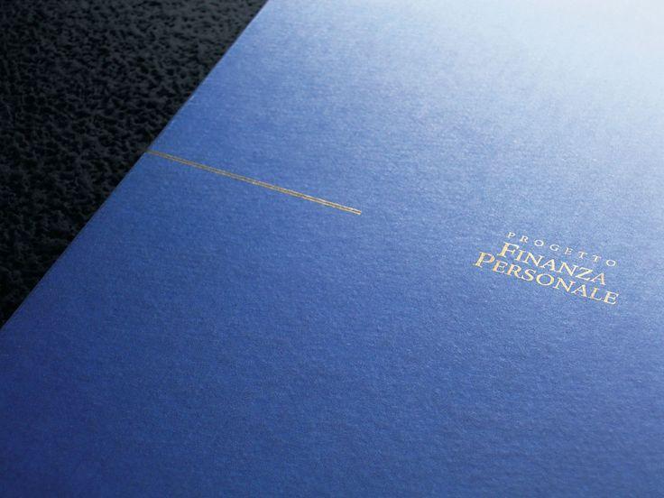 PROGETTO FINANZA PERSONALE - Brochure (Premio Agorà 2001) by Reparto Creativo LOJACONO & TEMPESTA