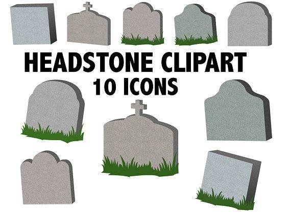 Spooky Cemetery Clip Art