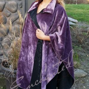 Purple Velvet Cape Newly crafted winter & spring garments are ready to be viewed and purchased. Please visit our website www.katalinmalatinszky.ca