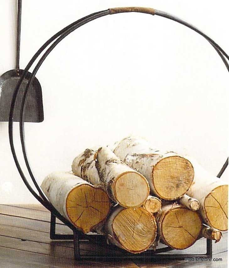 Roost Forged Iron Log Holder – Modish Store