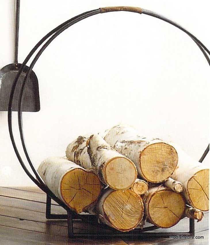 Fireplace Design fireplace log holder : Best 25+ Log holder ideas that you will like on Pinterest ...