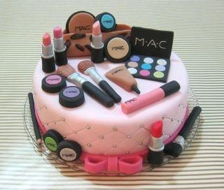 MAC Cake!: Food, Cake Ideas, Make Up Cake, Mac Cake, Party Ideas, Makeup Cakes, Birthday Cakes