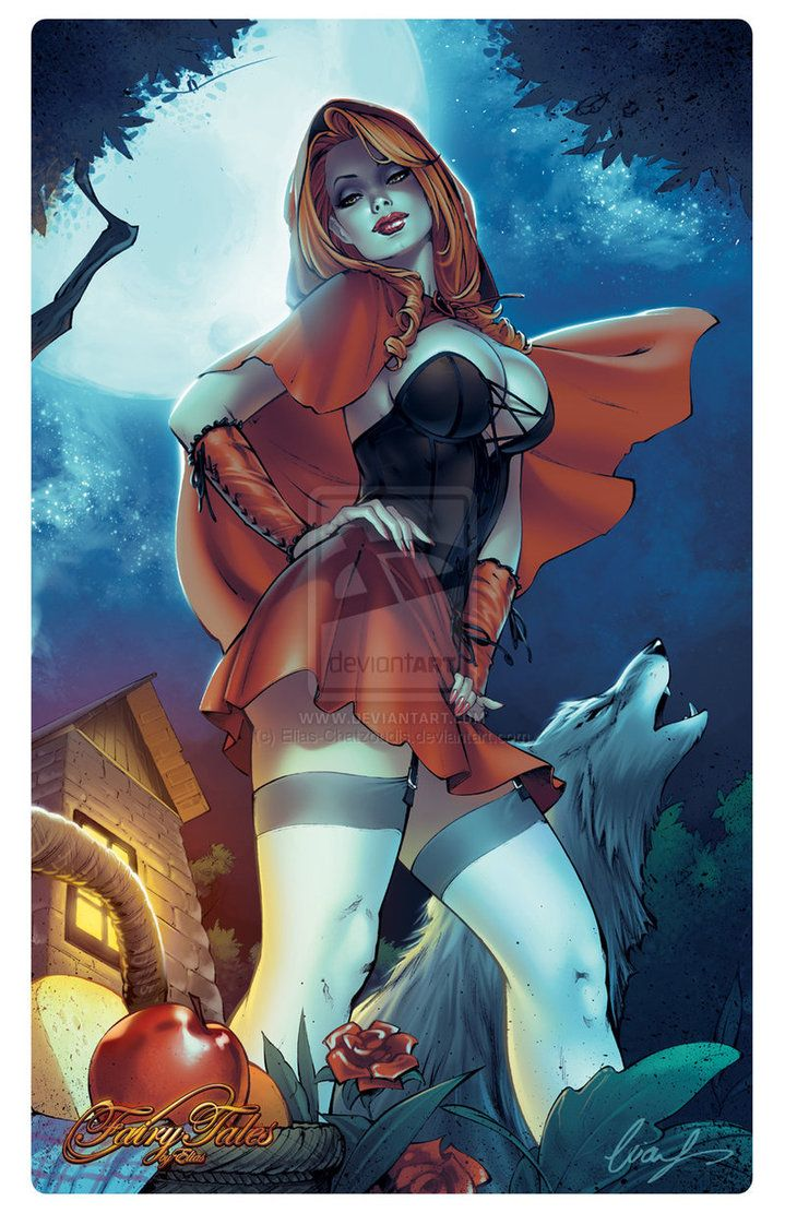 Not so Little red Riding Hood by Elias-Chatzoudis on DeviantArt___!!!