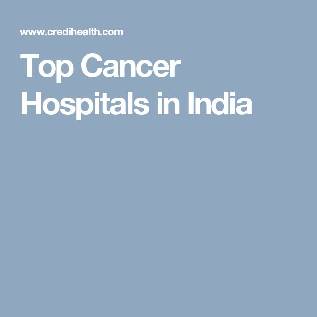 Top Cancer Hospitals in India