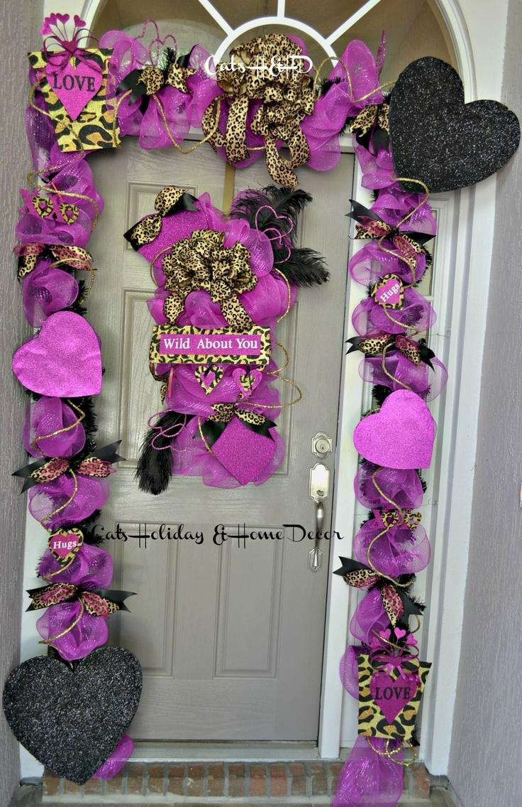 Valentine Door Decoration Ideas 588 Best Valentine Wreaths Images On Pinterest Valentine