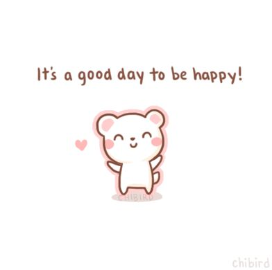 This little bear would like to share some... - chibird