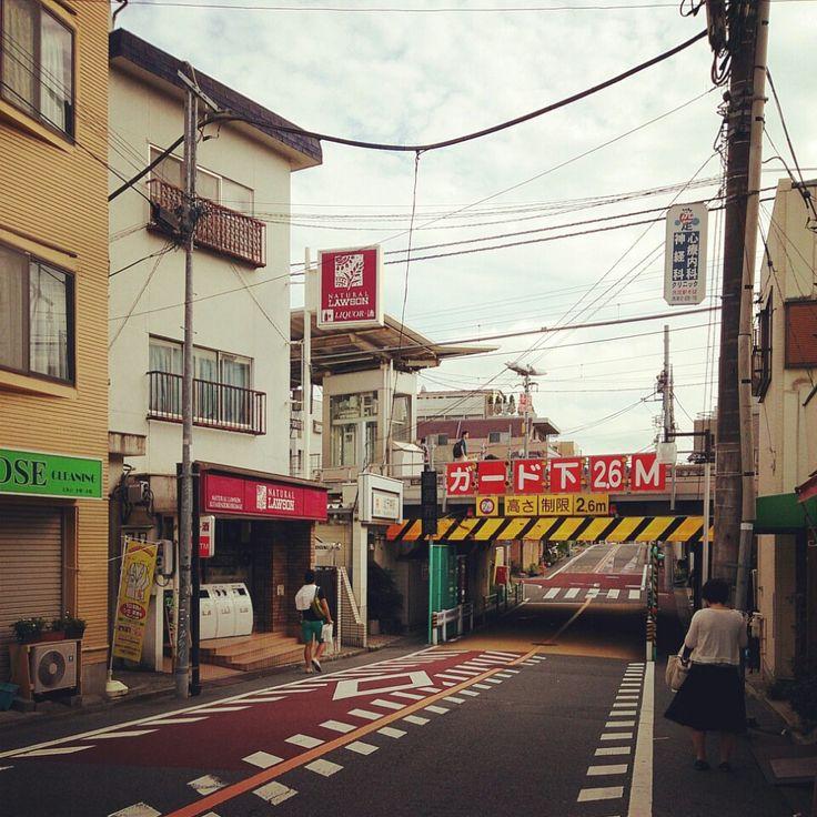 北千束駅 (Kita-senzoku Sta.) (OM07) in 東京, 東京都 - This is roughly near where Tamami Shima was from in Japan, and where she worked, as closely as I can tell.