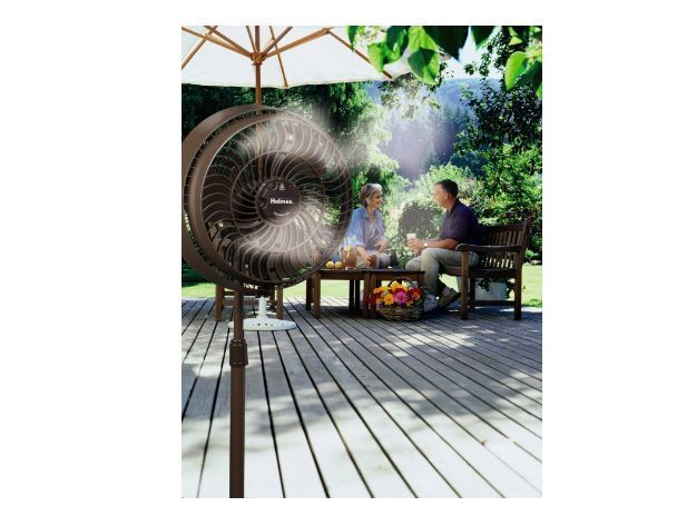 Details About Outdoor Misting Fan Cooling Water Portable Mist Spray Patio  Camp Cool Sport New