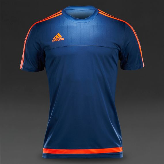 adidas Tiro 15 Training Jersey - Night Marine/Solar Red