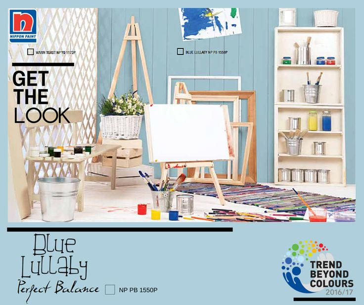 Raih keseimbangan dalam hidup dengan Blue Lullaby NP PB 1550P. Warna biru pastel ini mempersembahkan keindahan dan keseimbangan yang dapat bermanfaat bagi kita. Ini adalah warna yang sempurna bagi ruang keluarga Anda untuk menciptakan suasana ceria dan tenang.