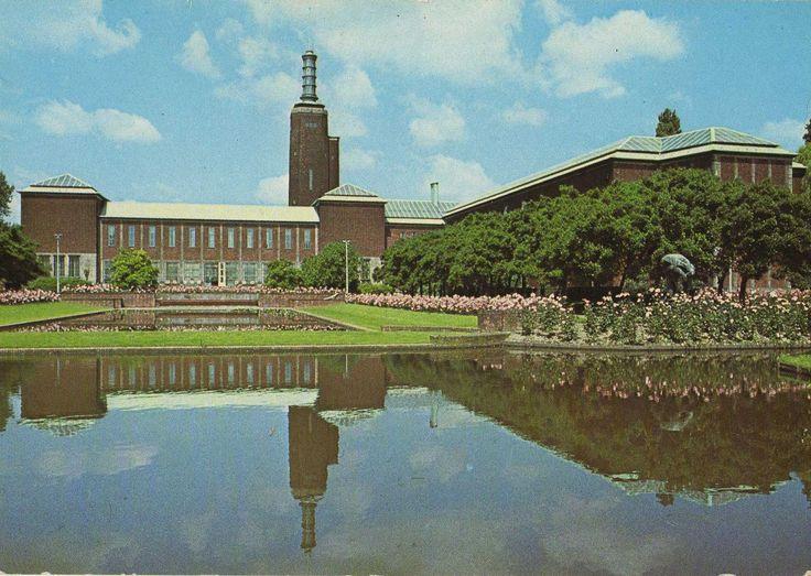 Achterzijde Museum Boymans-van Beuningen Rotterdam ©Spanjersberg, Rotterdam