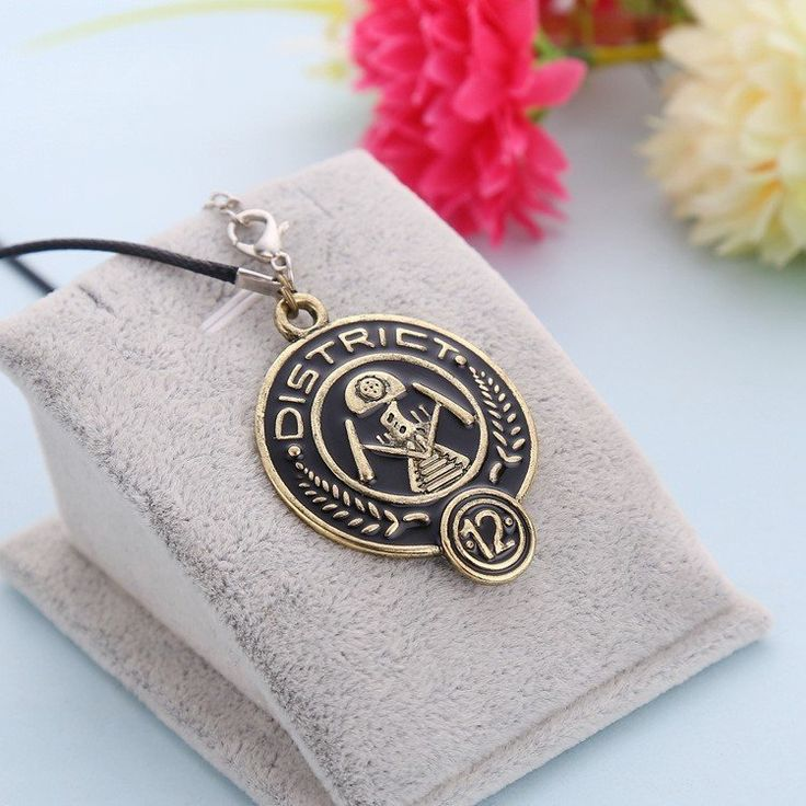 The Hunger Games District 12 Pendant Necklace