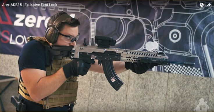 Arex AKB15 (or AKB-15) 7.62x39mm Tactical AK-Type Rifle/Carbine/SBR: Where the Modernized Kalashnikov AK-47/AKM Meets AR-15/ACR Modularity and Ergonomics! | DefenseReview.com (DR): An online tactical technology and military defense technology magazine with particular focus on the latest and greatest tactical firearms news (tactical gun news), tactical gear news and tactical shooting news.
