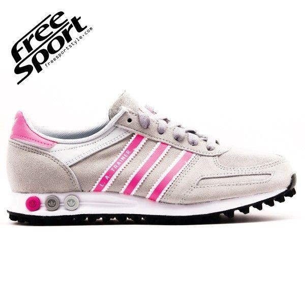 Scarpe Adidas Trainer in Camoscio Grigia m20870 http://freesportstyle.com/ adidas