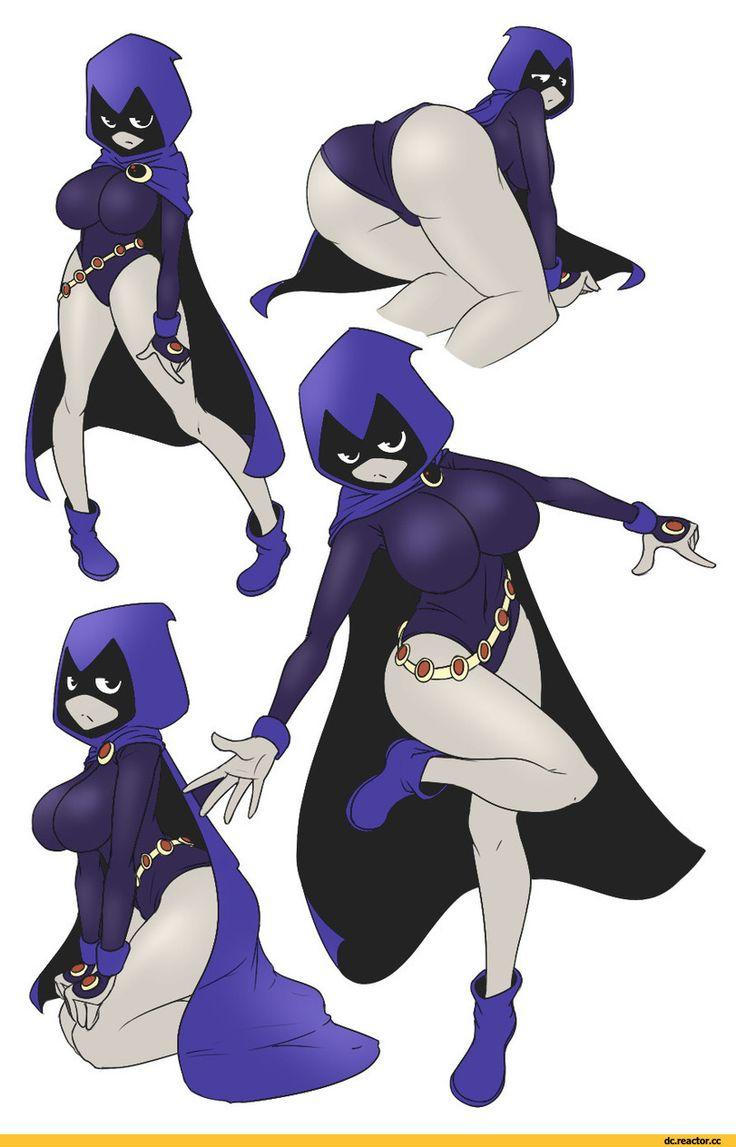 Raven Dc, Crow, Raven, Rachel Roth, Teen Titans, Young -3362