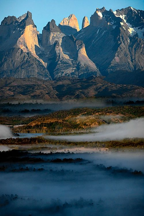 Torres del Paine National Park, Torres del Paine National Park, Patagonia, Chile