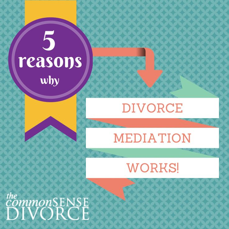 Divorce Mediation WORKS if you and your spouse are willing to work together on a separation agreement that benefits everyone, including your kids.
