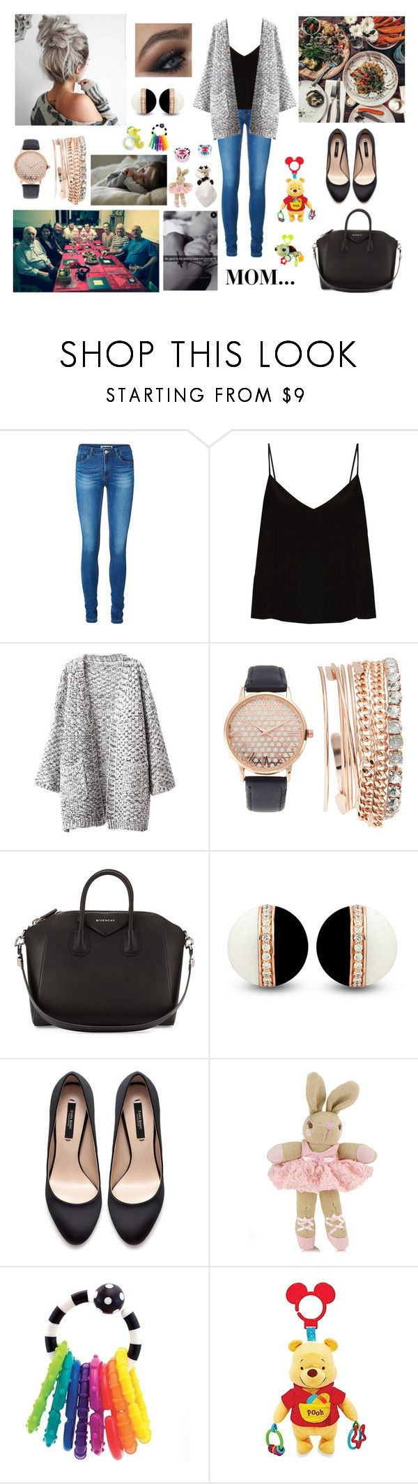 """""""Dinner with Harry's Family"""" by louisericoul ❤ liked on Polyvore featuring Vero Moda, GET LOST, Raey, Chicnova Fashion, Jessica Carlyle, Givenchy, Zara, Monsoon, Carter's and Disney"""