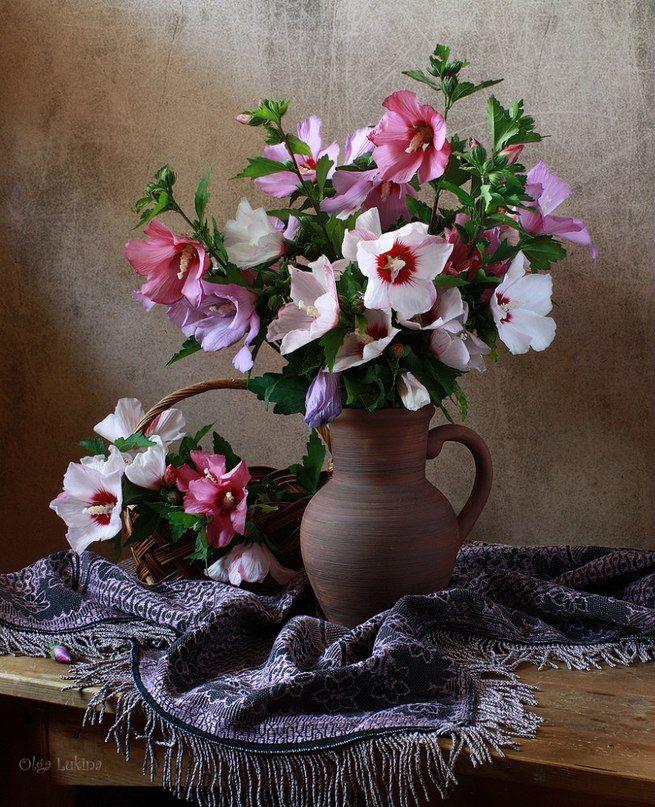сытное фотографии цветов натюрморты под старину знаю