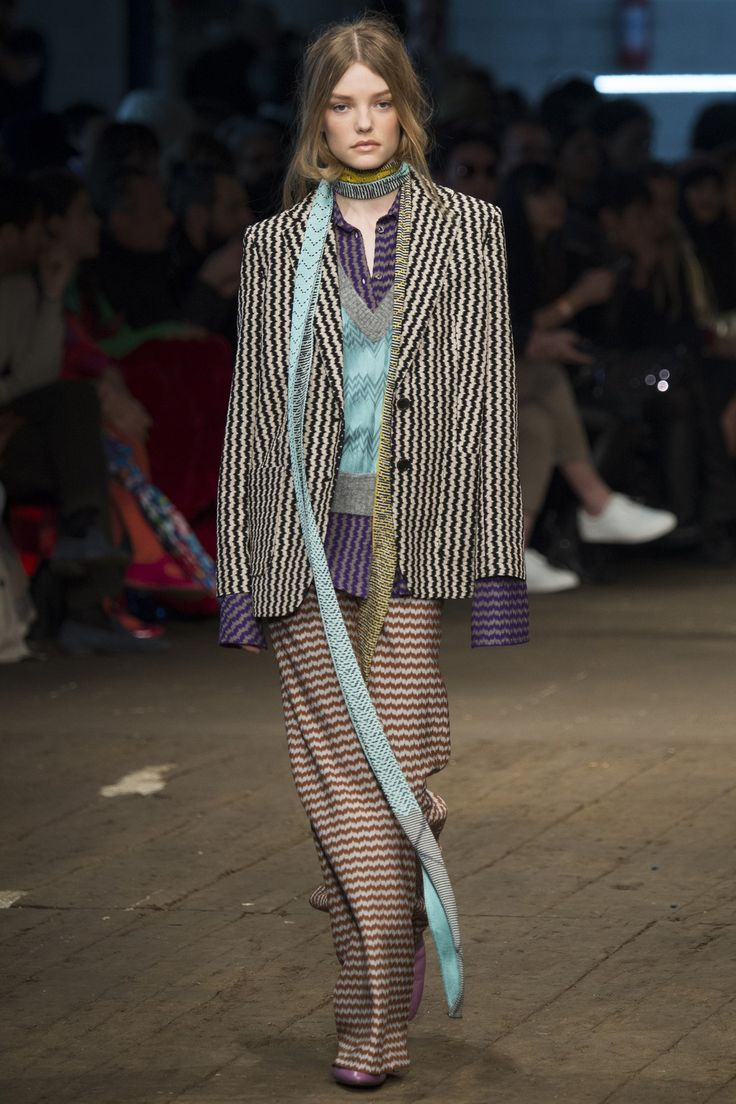 Missoni Fall 2016 Ready-to-Wear Collection Photos - Vogue