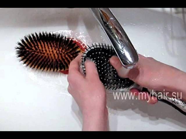 ❤ Как мыть расчески ❤