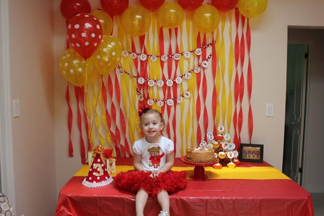 Balloons And Streamers Daniel Tiger Party Lily S 3rd