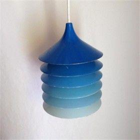 Retro Ikea-lampe.
