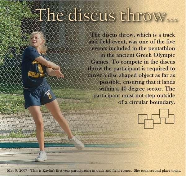 The discus throw