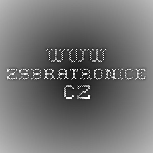 www.zsbratronice.cz