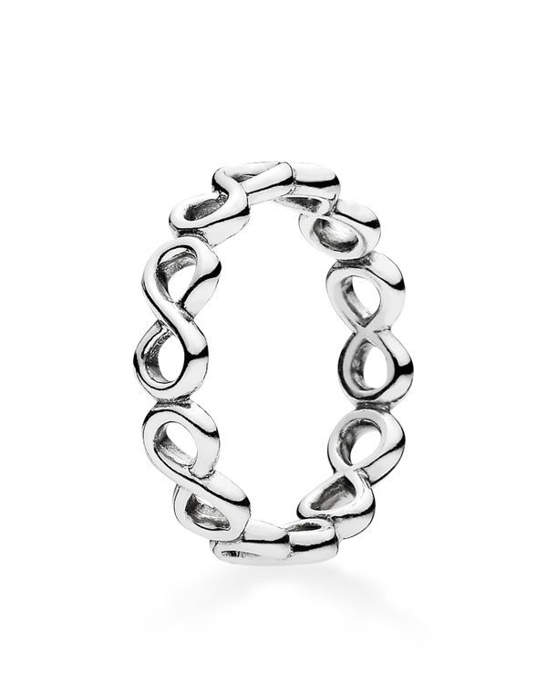 Pandora Ring - Sterling Silver Infinite Shine | Imported | Style #190994 | Sterling silver | Photo may have been enlarged and/or enhanced | Web ID:1683884